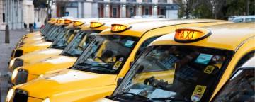 Taxi sin pagar por bajar la bandera, app