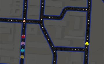 Pacman por la ciudad