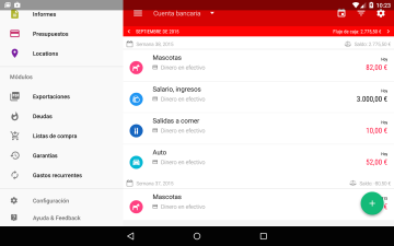 My Wallet, aplicación Android para ahorrar dinero y cuidar tus finanzas